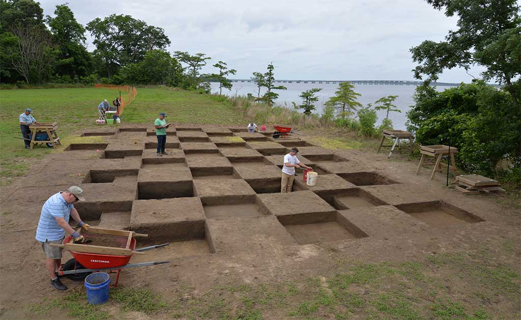 Albemarle Sound Erosion Poses Risks to Potential Lost Colony Artifacts