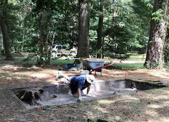 Latest Dig Yields New Clues at Fort Raleigh Historic Site